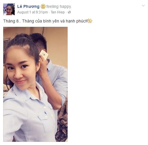 Những hình ảnh hạnh phúc ngập tràn trang cá nhân của Lê Phương. - Tin sao Viet - Tin tuc sao Viet - Scandal sao Viet - Tin tuc cua Sao - Tin cua Sao