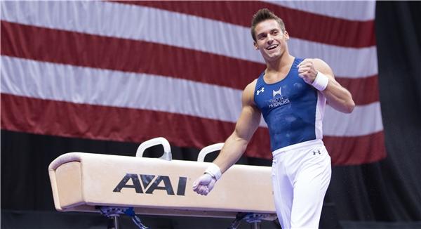 8.Sam Mikulak - đội tuyển Mỹ(Ảnh: Internet)