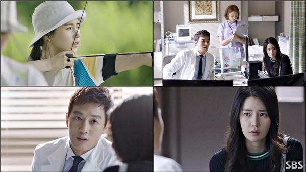 Nữ diễn viên Lim Ji Yeon trong vai nữ tuyển thủ bắn cung mắc chứng run tay.