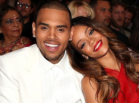 Chris BrownvàRihannalúc còn mặn nồng.