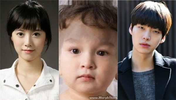 Mới đây, đám cưới đầy chớp nhoáng củaAhn Jae Hyun và Goo Hye Sun đã khiến nhiều người hâm mộ không khỏi kinh ngạc. Giờ đây, tất cả đều đang chờ thiên thần nhỏ của cả hai ra đời. Liệu nó có giống như bức ảnh này hay không?(Ảnh: Internet)