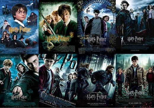 Không ai không thể nhớ đến bộ phim huyền thoại Harry Potter.