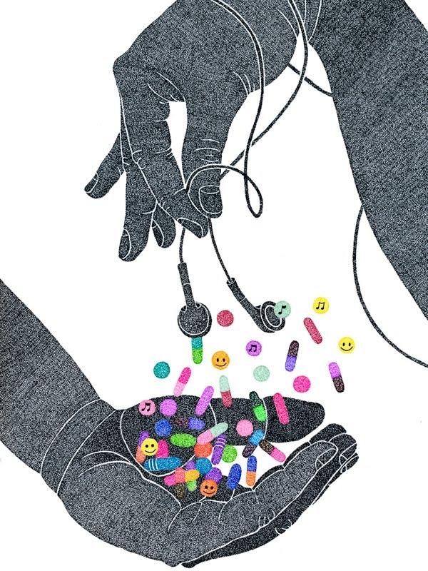 Âm nhạc chính là liều thuốc kì diệu nhất cho tâm hồn.