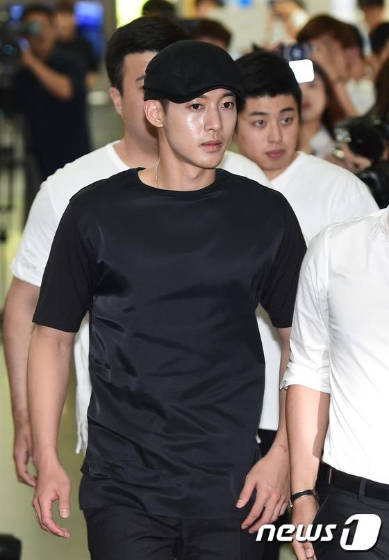 Kim Hyun Joong có mặt tại Tòa ngày 19/6 vừa qua