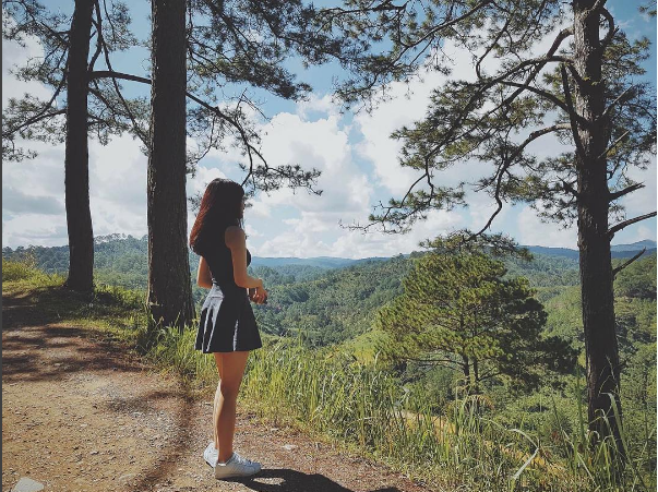 Đừng bao giờ ngại đi du lịch một mình. (Ảnh: @kieutrinhxiu)