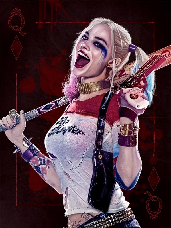 Hình tượng người hùng nửa chính nửa tà của Harley Quinnđã ăn đứt mọi nữ anh hùng khác từng xuất hiện trên màn ảnh rộng.