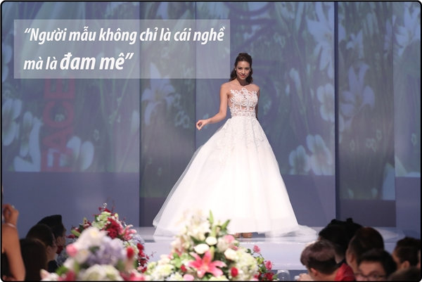 Từ yêu thích, nghề mẫu đã trở thành đam mê với Lilly Nguyễn.