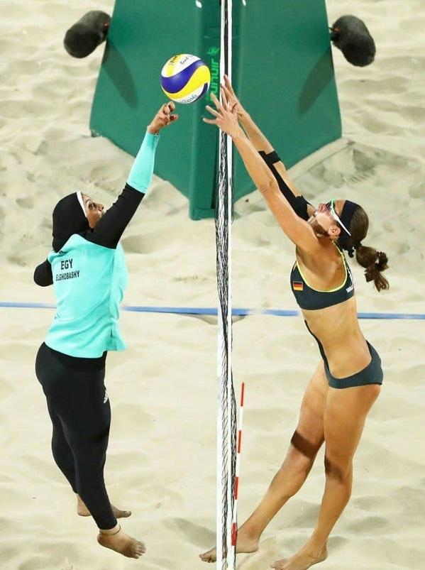 Dù chúng ta khác biệt về văn hóa, quốc tịch haymàu da thì trong cuộc thi này, chúng ta luôn có chung một tinh thần thể thao bất diệt.