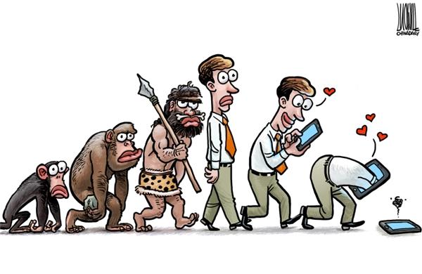 Con người sẽ dần tiến hóa đến một thế giới mà họ không còn tồn tại nữa.