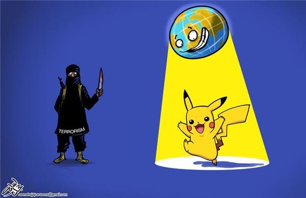 Vì quá sợ hãi bọn khủng bố, ông trời đã tạo ra một thế lực còn nguy hiểm hơn chúng.