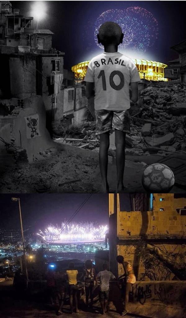 Nghệ thuật đã phản ánh chân thực góc tối ở Rio:Dù phía xa kia là ánh sáng rực rỡ sắc màu của ngày hội thể thao thì ở đây vẫn là cuộc sống đầy tăm tối của những đứa trẻ mồ côi, lang thang cơ nhỡ.