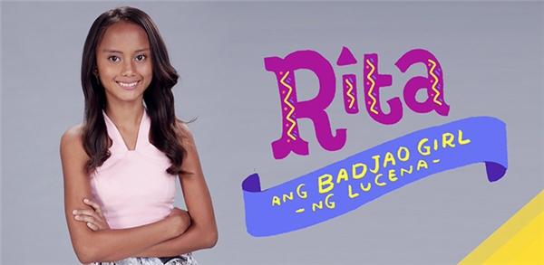 Hình ảnh giới thiệu về Rita trong chương trình thực tế nổi tiếng ở Philippines (Ảnh: Internet)