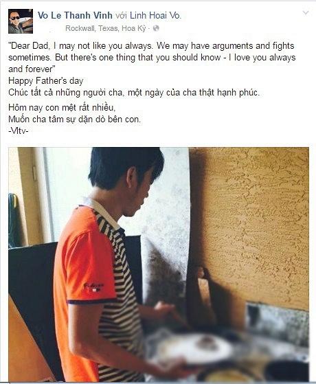 Thành Vinh dành những lời chúc ngọt ngào đến NSƯT Hoài Linh trong Ngày của Bố. - Tin sao Viet - Tin tuc sao Viet - Scandal sao Viet - Tin tuc cua Sao - Tin cua Sao
