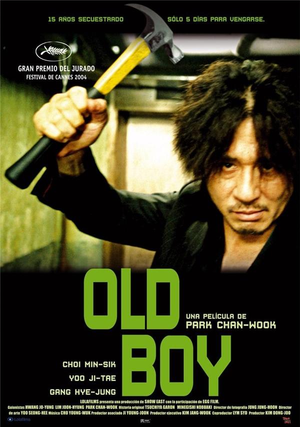 Old Boy là bộ phim thứ 2 nằm trong serie phim về báo thù của Park Chan Wook.(Ảnh: Internet)