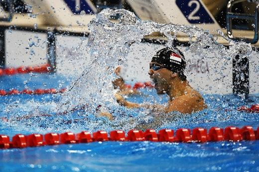 Cả hai tiếp tục đụng độ nhau trong vòng chung kết nội dung 100m bướm.