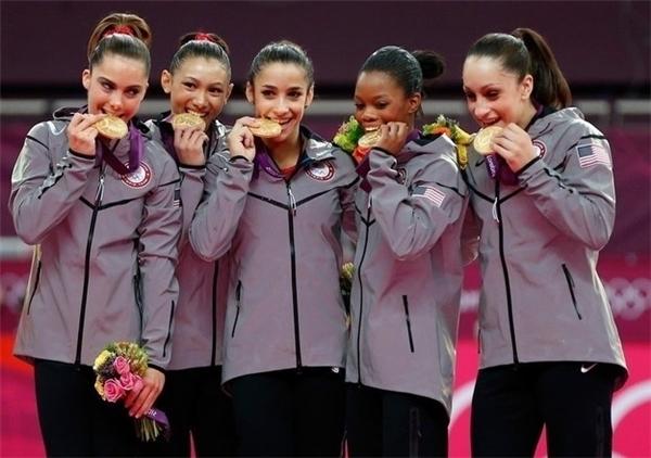 1. Không phải vận động viên thể dục dụng cụ nào cũngmuốn tham dự Olympic. Đơn giản chỉlà họ yêu thích môn thể thao này.
