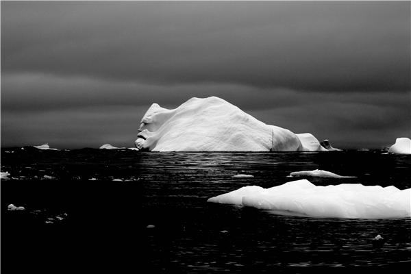 7. Khuôn mặt kìquái của tảng băng hẳn sẽ khiến không ít người đau tim. Đây là một tảng băng đặc biệt mà các nhà thám hiểm trong quá trình khám phá Nam Cực chụp lại được.