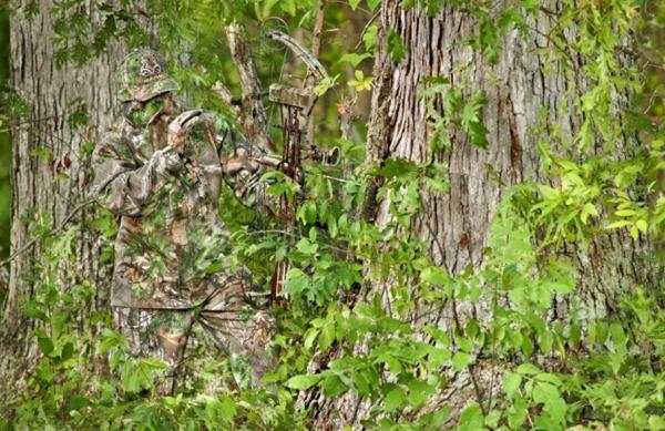 """8. Đây là sản phẩm độc đáo của Công ty Mỹ Realtree giúp các thợ săn có thể """"hòa tan"""" vào thiên nhiên. Quả là... người còn khó nhận ra nhau huống chi con vật."""