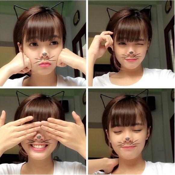 Mái tóc Maruko giúp Thanh Mai hack tuổi.