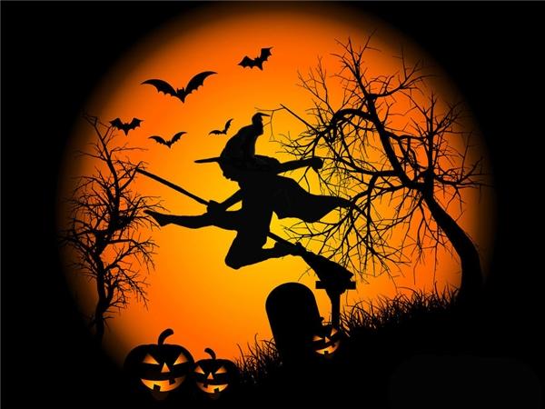 Ngụy trang thành phù thủy đáng sợ.