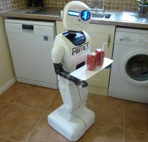 Robot thông minh sẽ đảm nhiệm hết tất cả công việc của phụ nữ. (Ảnh: internet)