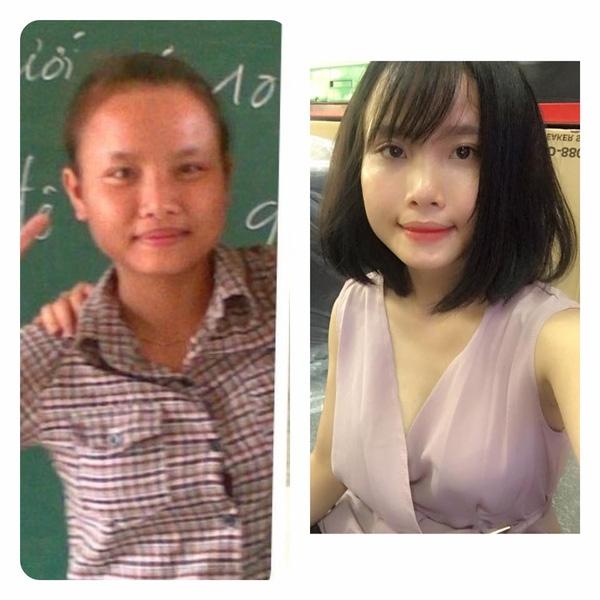Cô nàng thay đổi từ da dẻ đến đầu tóc và cách ăn mặc trong 6 năm.