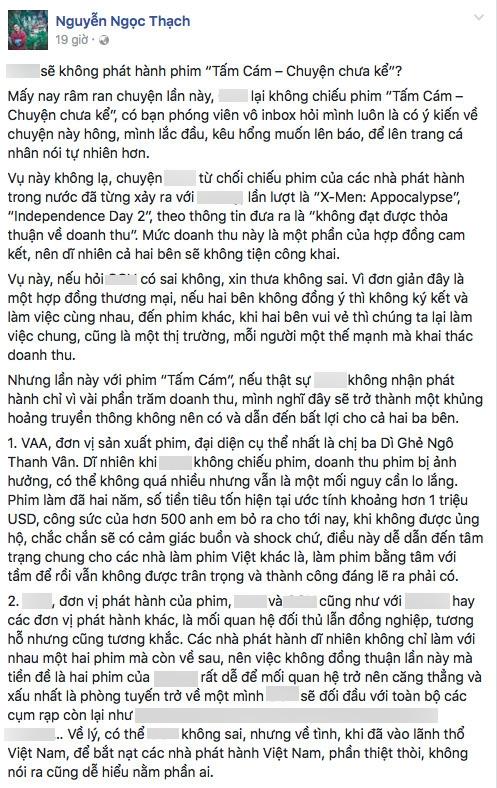 """Vân Ngô """"nghẹn lòng"""" trước tin Tấm Cám không được chiếu rộng rãi - Tin sao Viet - Tin tuc sao Viet - Scandal sao Viet - Tin tuc cua Sao - Tin cua Sao"""