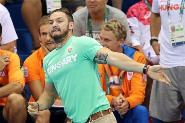 Đây là anh chồng cổ động viên tăng động gây chú ý nhất Olympic