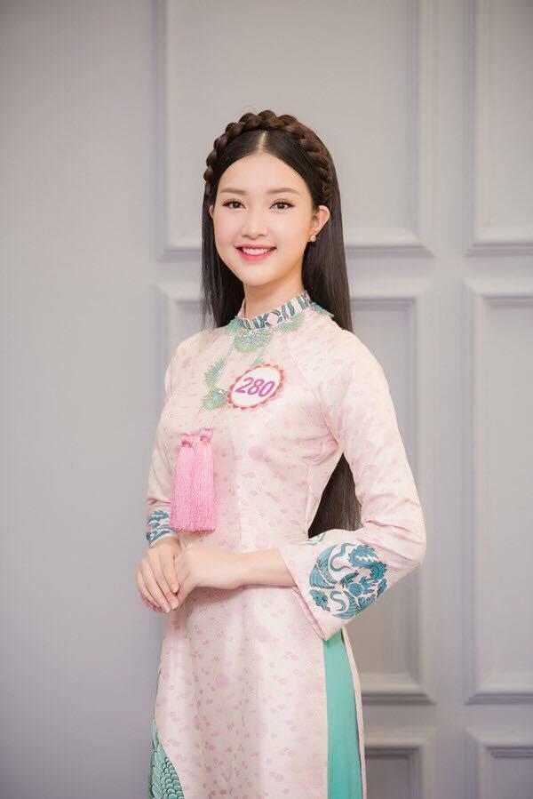Nét dịu dàng, ngọt ngào đậm chất Á Đông của Ngọc Trân đã thu hút đông đảo người hâm mộ.