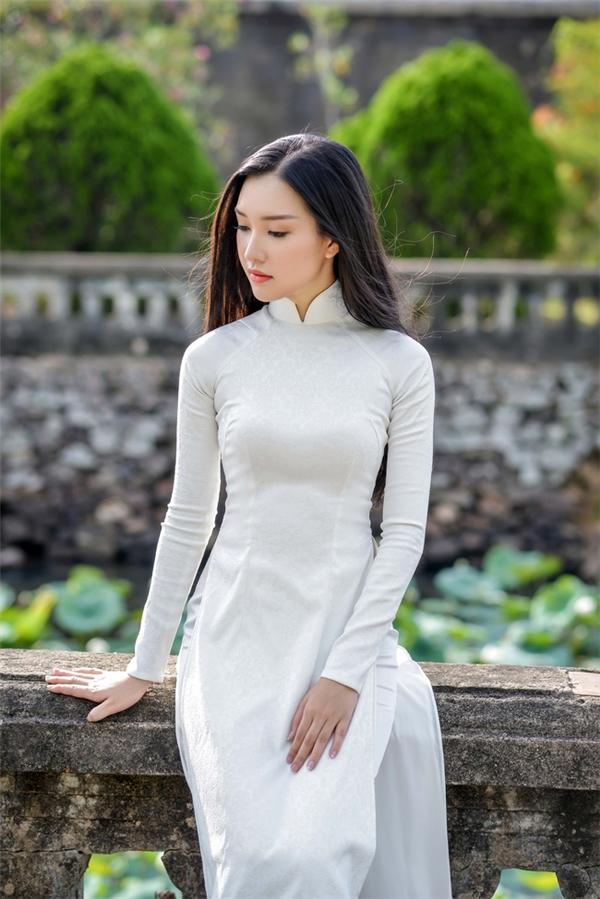 Ngắm nhan sắc khuynh thành của thí sinh bỏ thi Hoa hậu - Ngọc Trân