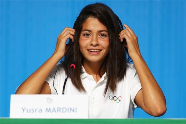 Cô gái tị nạn người Syria - người đã giành chiến thắng trong trận đấu mở màn Olymic