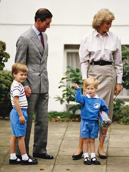 Hoàng tử Harry bắt đầu theo học trường Wetherby ở Notting Hillvào ngày 11/9/1989, trong ngày học đầu tiên Harry may mắn có anh trai, cha và mẹ đi cùng nên vô cùng vui vẻ vẫy tay chào mọi người.