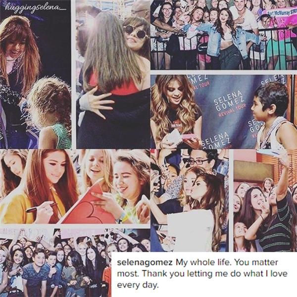 Đối với Selena, các fan là những người quan trọng nhất.