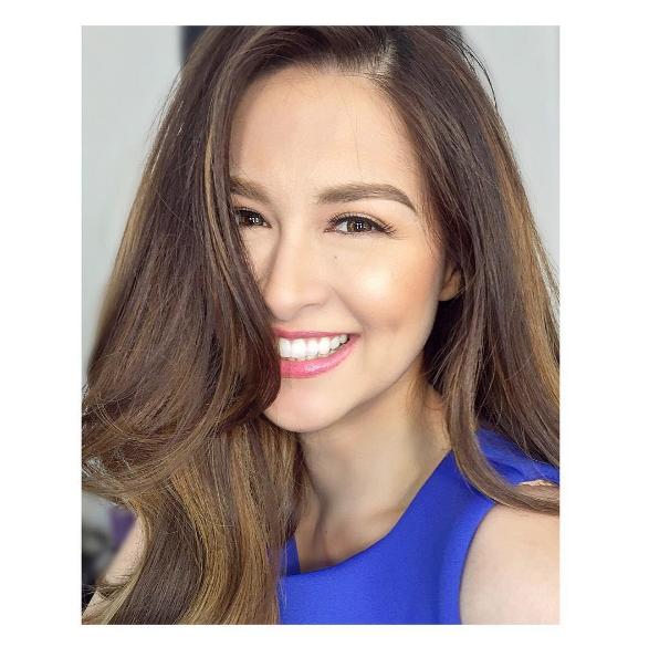 """Marian Rivera được mệnh danh là """"Mĩ nhân đẹp nhất Philippines""""."""