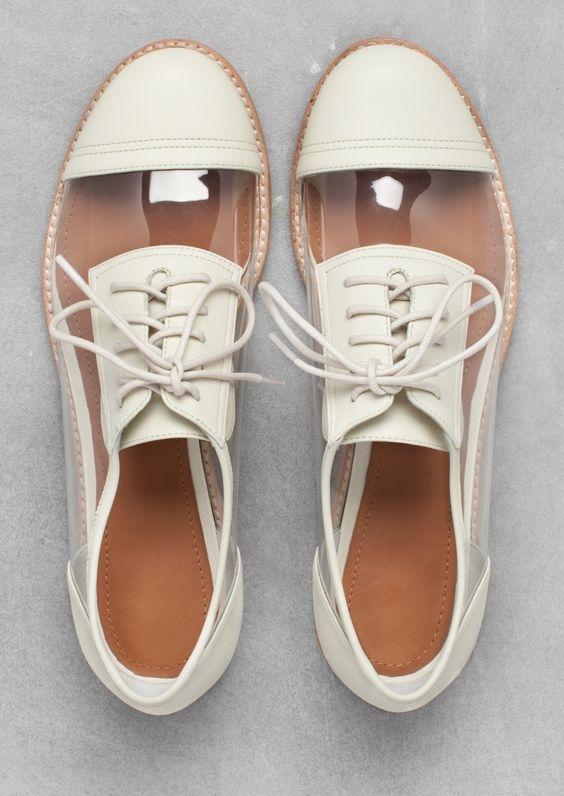 Một lựa chọn độc đáo cho những cô nàng nghiện giày Oxford.