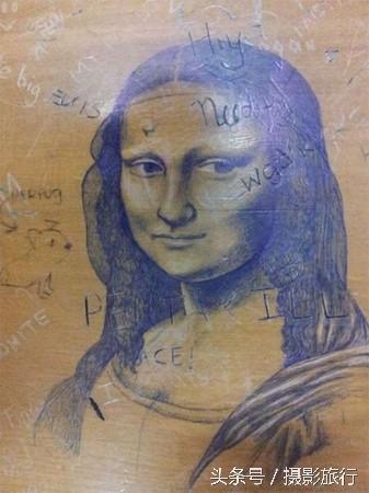 """Mona Lisa luôn là """"nàng thơ"""" của các cô cậu học trò lém lỉnh."""