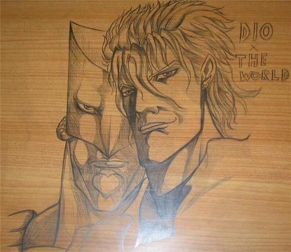 Há hốc mồm với những kiệt tác vẽ lên bàn của các cao thủ học đường