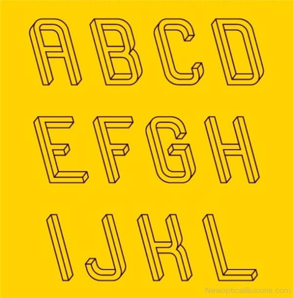Các chữ cái này hướng về phía nào?