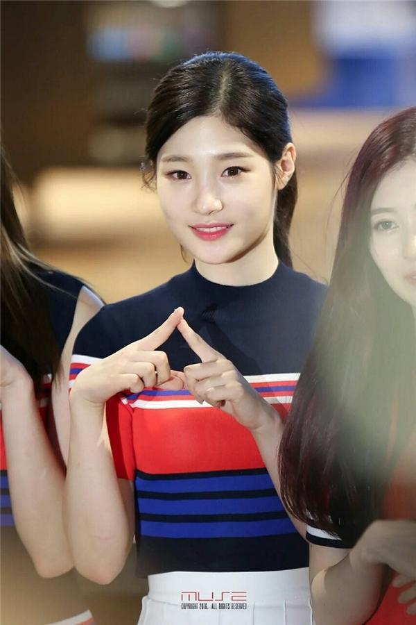Một số hình ảnh của Chaeyeon tại sự kiện (Ảnh: Internet)