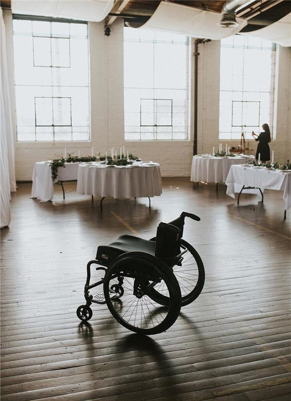 Mục tiêu tiếp theo Jaquie đề ra sau đám cưới làbước đi cả quãng đời còn lại mà không cần đến chiếc xe lăn.
