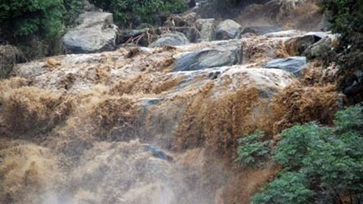 Bão số 3 có nguy cơ sẽ gây ra lũ quét, sạt lở đất ở đồng bằng Bắc Bộ. (Ảnh: Internet)