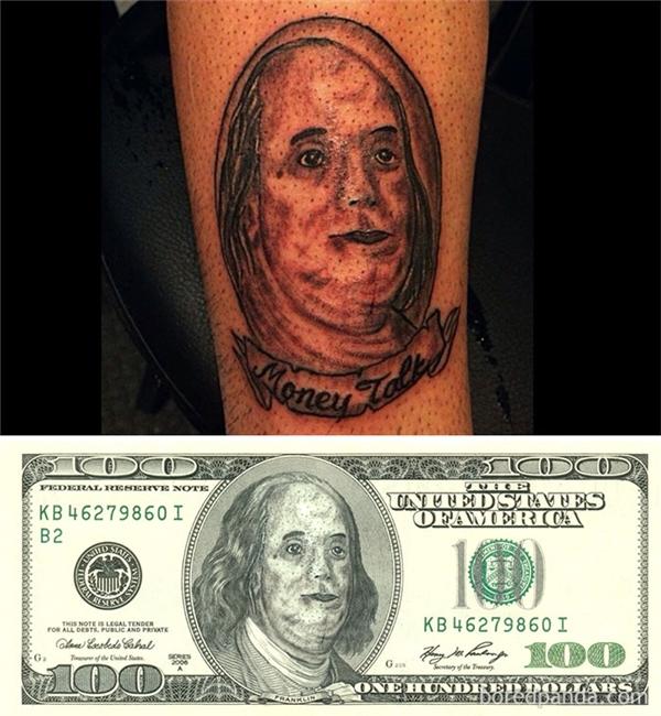 Đồng đô la chắc chắn rớt giá nghiêm trọng nếu in tấm hình này.