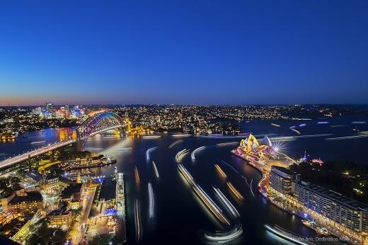 "Sydney, ""trái tim"" của bang NSW. Nguồn ảnh: Destination NSW"