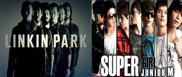 Người hâm mộ Linkin Park và Super Junior tạiViệt Nam từng khẩu chiến