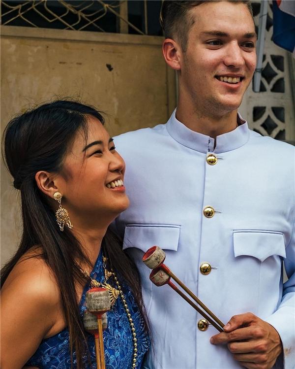 """Kellen đang tham gia một vai trong phim truyền hình Thái có tên """"Happiness"""". (Ảnh: Instagram)"""