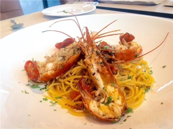 Những món Ý tại Basta Hiro rất đơn giản và giữ nguyên được hương vị tự nhiên của thực phẩm.