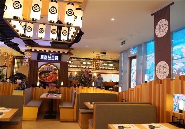 Nhà hàng Tokyo Sundobu phục vụ món canh đậu hũ Hàn Quốc nhưng được chế biến theo kiểu Nhật. Có thể nói đây là điểm phá cách và thú vị của làng ẩm thực Oedo Alley.