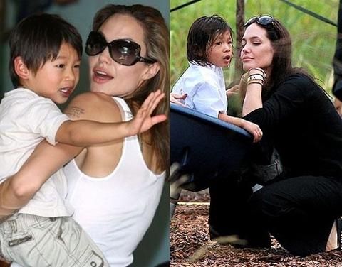 Ở với mẹ Jolie, thời trang của Pax Thiên 9 năm vẫn không đổi