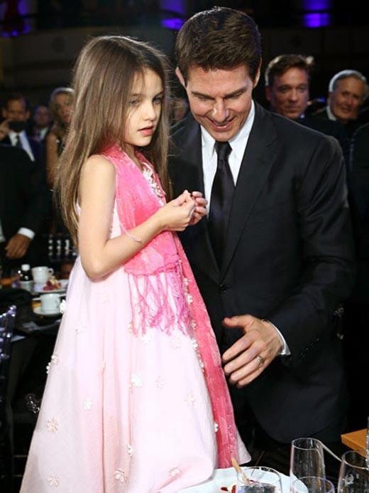 Tom Cruise và Suri trong lần cuối cùng bên nhau vào tháng 8/2012.