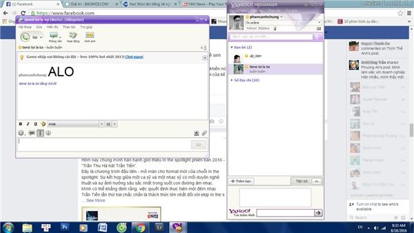 Yahoo Messenger vẫn chưa thực sự khai tử.
